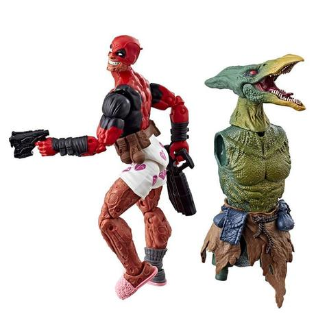 Фигурка Дэдпул (Deadpool) в тапочках и боксерах - Marvel Legends, Hasbro