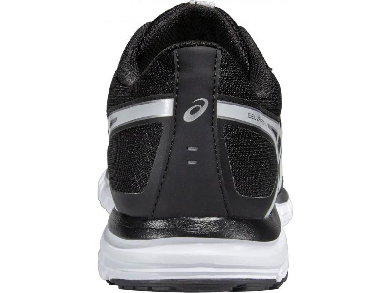 Мужские беговые кроссовки Asics Gel-Zaraca 4 (T5K3N 9001) черные фото пятка