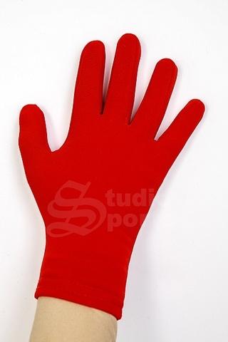 Термоперчатки цветные (красные)