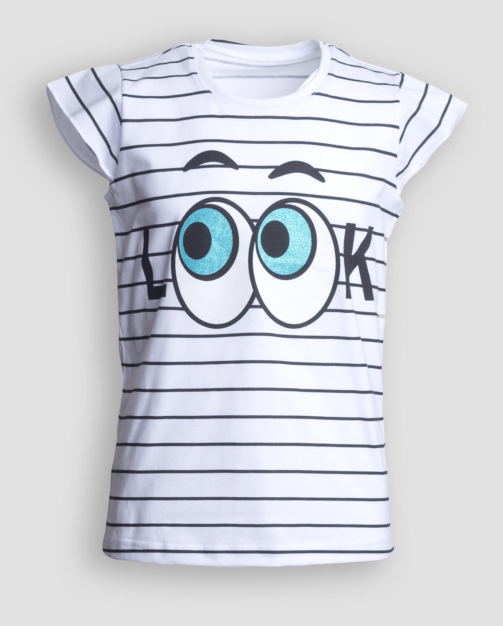 Детская женская футболка E18K-34M101