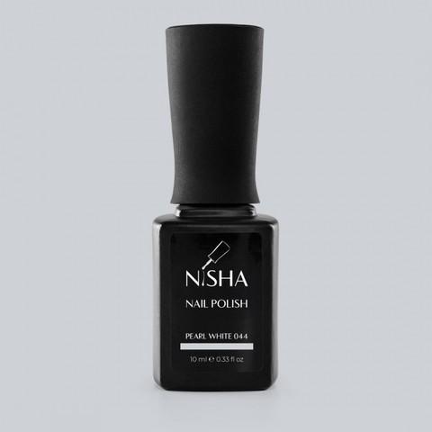 Гель-лак Nisha Pearl White 044