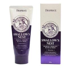 Deoproce Hand & Body - Swallow's Nest - Крем для тела и рук с экстрактом ласточкиного гнезда