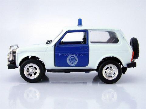 VAZ-21213 Niva Lada Police Agat Mossar Tantal 1:43