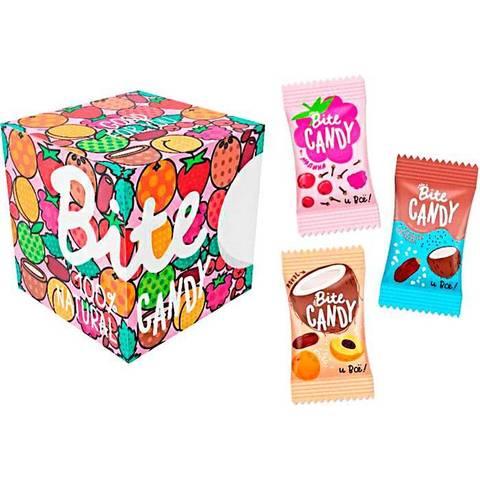 Bite набор батончиков Candy 120 гр розовый