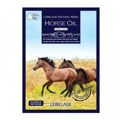Lebelage Horse Oil Natural Mask - Тканевая маска для лица с лошадиным маслом