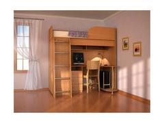 Детская кровать-чердак Дуэт-3 лдсп