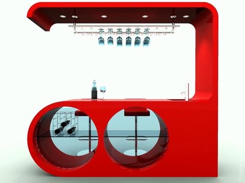 Дизайн-проект барной стойки