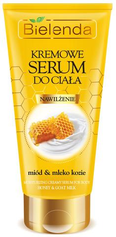 CREAMY BODY SERUM Увлажняющая сыворотка с медом и козьем молоком 200мл