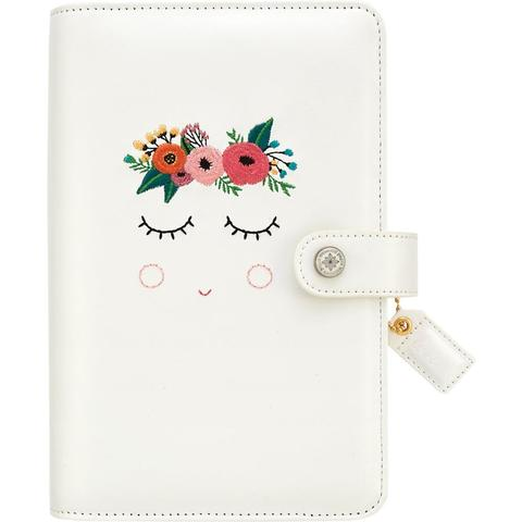 Планер Color Crush Faux Leather Personal Planner Binder- by Websters Pages (БЕЗ внутреннего наполнения)- Sweet Caroline
