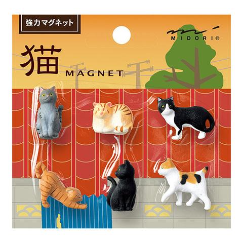 Магниты Midori Neko Magnet