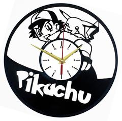 Покемон Часы из Пластинки — Пикачу и Эш Кетчум