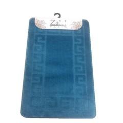 Коврик для ванны Zalel 55х90 см ворс, бирюзовый