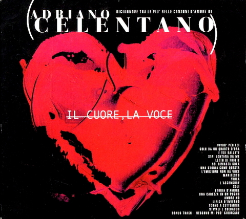Adriano Celentano / Il Cuore, La Voce (CD)