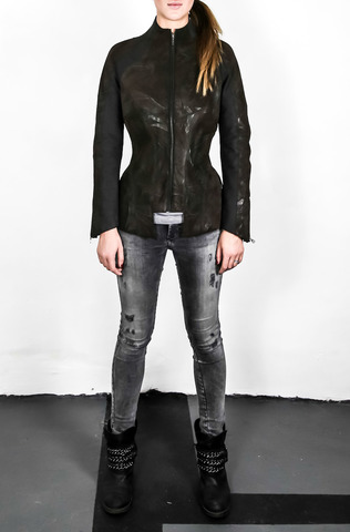 Кожаная куртка «FEINI»