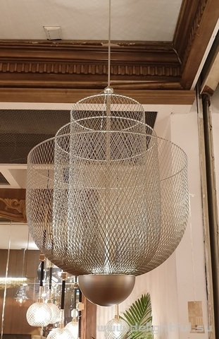Moooi Meshmatics Chandelier silver replica chandelier