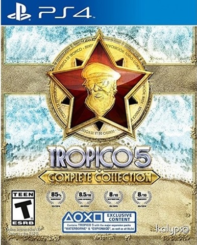 PS4 Tropico 5 - Complete Collection (русская версия)