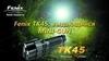 Купить Мощный фонарь-миниган Fenix TK45, 760 люмен (34255) по доступной цене