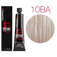 Goldwell Topchic 10BA (Дымчатый блондин) - Cтойкая крем краска