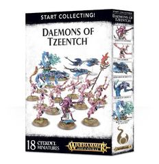 Daemons of Tzeentch. Коробка
