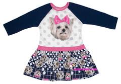 436 платье собачка