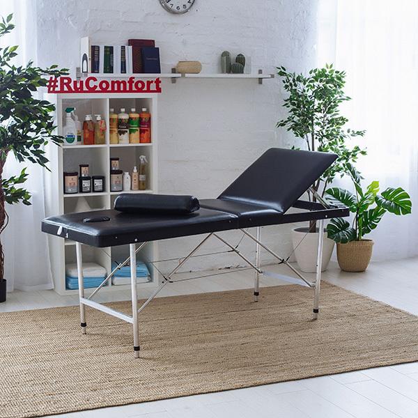 RU Comfort - Складные косметологические кушетки Косметологическая кушетка (180х60x75-95) Comfort LUX 180Р 1-_205-из-298_.jpg