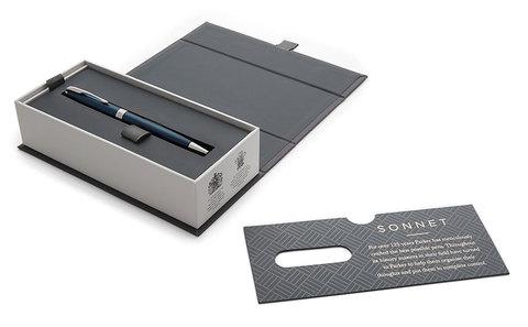 Шариковая ручка Sonnet Blue Lacquer CT123