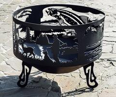 Чаша для костра «ОХОТА&РЫБАЛКА» (WeekEnd)