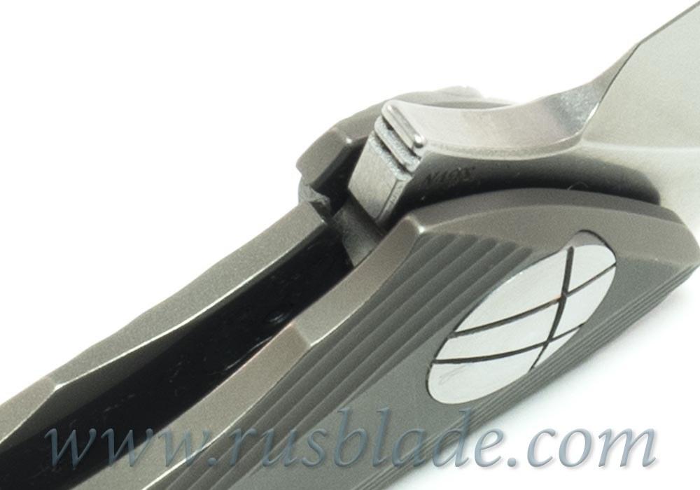 CKF Rabbit Knife (Alexey Konygin design, s35vn, titanium, bearings)