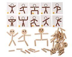 Развивающая игра Мозаика из палочек Человечки, Смайл Декор