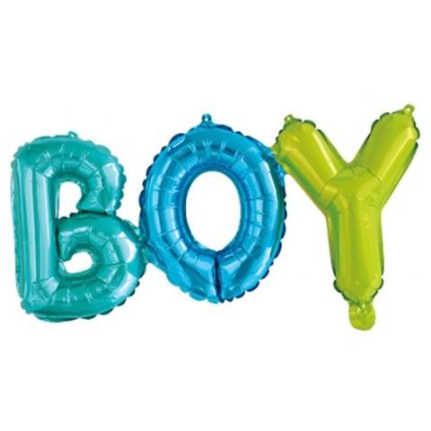 Фольгированный воздушный шар-слово