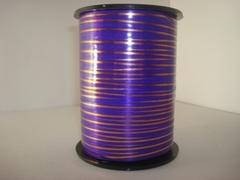 Лента с зол/пол. (0,5 см*250 ярд.) Фиолетовый