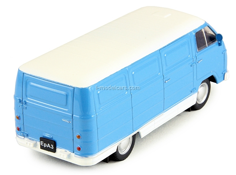 ERAZ-762B blue-white 1:43 DeAgostini Auto Legends USSR #102