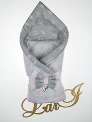 Конверт одеяло двустороннее  (серый)