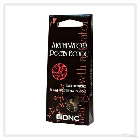 Активатор роста волос, масло косметическое для тонких и окрашенных волос, марка «DNC®» - 3х15г