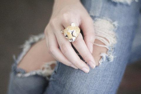 Кольцо Ягуар