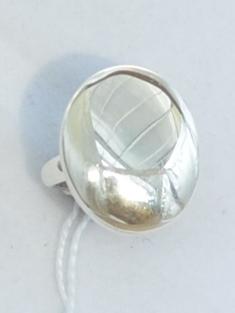 Овал М (кольцо из серебра)