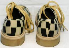 Женские туфли на толстой подошве Goby TMK6506