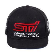 Кепка с вышитым логотипом Субару (Бейсболка SUBARU Tecnica International) черная