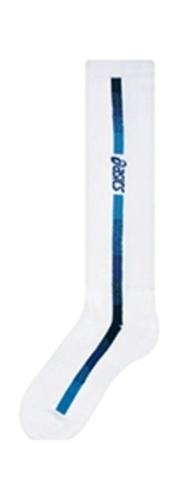 Волейбольные гольфы Asics женские white-blue