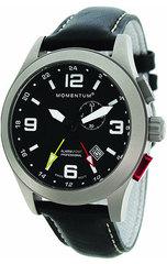 Часы Momentum Vortech GMT Alarm (кожа, сапфир)