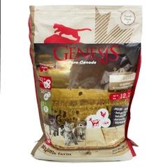 Genesis Pure Canada My Little Farm Kitten для котят, беременных и кормящих взрослых кошек с уткой, козой и курицей 2.268 кг