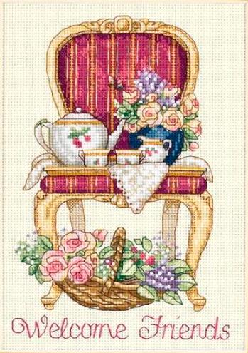 Набор для вышивания Время чаепития. Арт. 1017