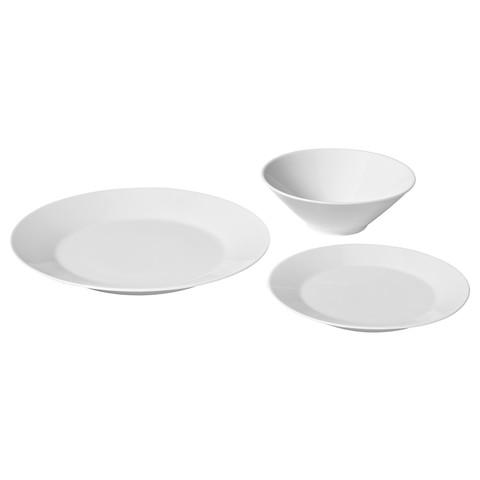 ИКЕА/365+ Сервиз,18 предметов белый
