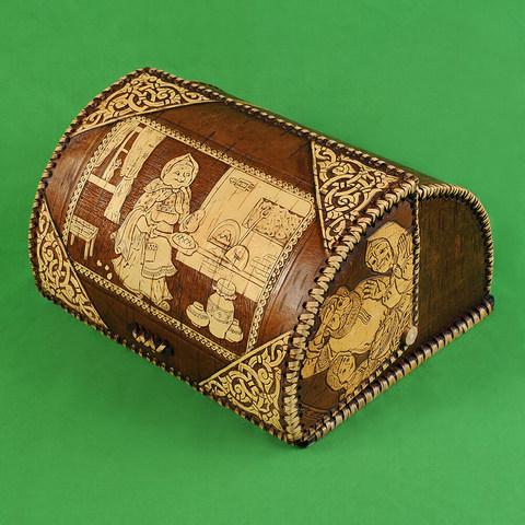 Хлебница шлем Бабушка