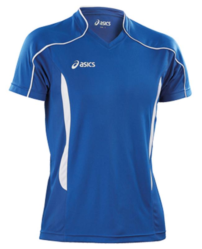 Мужская волейбольная футболка Asics T-shirt Volo (T604Z1 4301) синяя