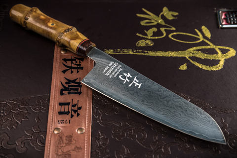 Кухонный нож Santoku 8117-DN