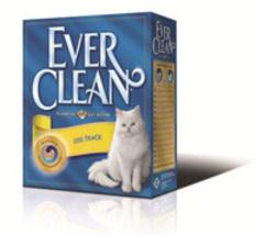 EVER CLEAN Less Track Наполнитель д/длинношерстных кошек (оранжевая полоса)