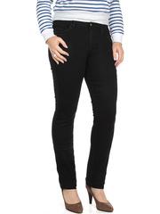 865 джинсы женские утепленные, черные