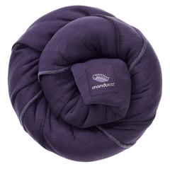 Трикотажный слинг-шарф manduca sling purple (лиловый)