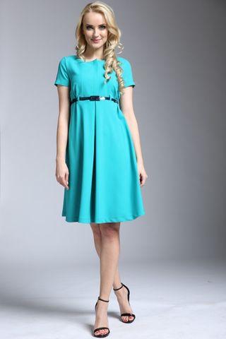 Платье 09273 зеленый